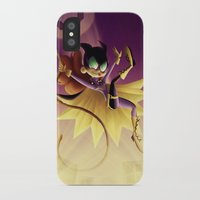 batgirl iPhone & iPod Cases featuring Batgirl by The Art of Eileen Marie