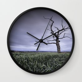 Old and Lonely Wall Clock