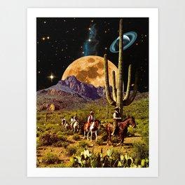 Space Cowboys Art Print
