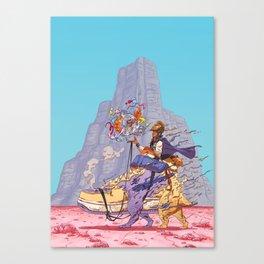 The Airtight Shoebox Canvas Print