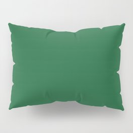 Green Bay Football Team Green Solid Mix and Match Colors Pillow Sham