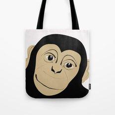 Monkey Illustration  Tote Bag