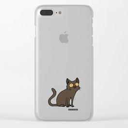 Cat - Burmese cat Clear iPhone Case