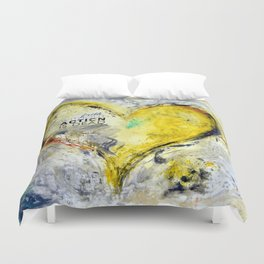 Faith without action is dead. Duvet Cover