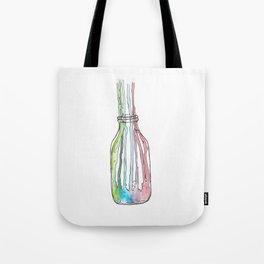 Jar of creativity // #ScannedSeries Tote Bag
