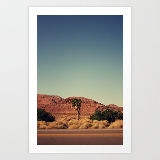 Joshua Tree. Art Print