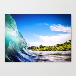 Tropical Wave Canvas Print