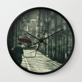Mysterious Night Wall Clock