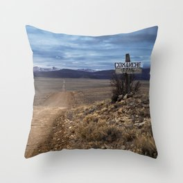 Comanche Trail Throw Pillow