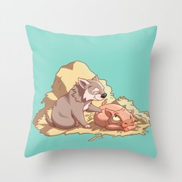 Tag, you're it! Throw Pillow