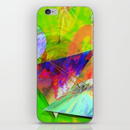 UPGRADE UPRAISE HAPPINES AND LOVE iPhone Skin