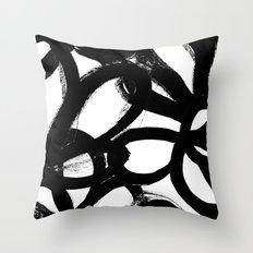 Blackwhite Throw PillowsSociety6