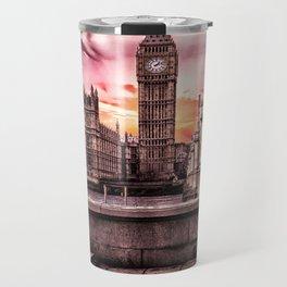 London - Big Ben Travel Mug