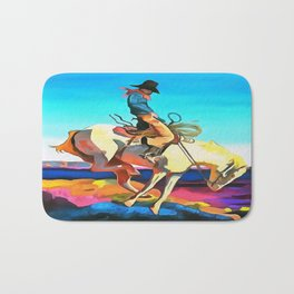 Cowboy Bath Mat