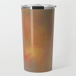Invitation to Autumn Abstract Painting by Jai Johnson Travel Mug