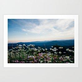 Monongalia County, USA Art Print