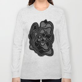 Screen Door Flower Long Sleeve T-shirt