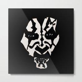 Maul-icious Intent Metal Print