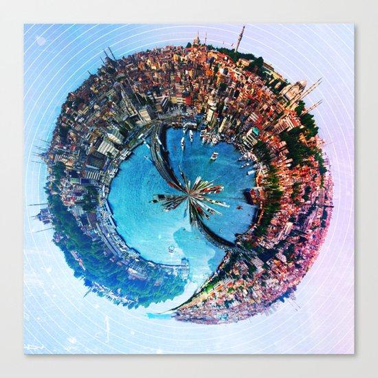 Istanbul's Golden [Sphere] Canvas Print
