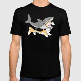 Another Corgi in a Shark Suit T-shirt