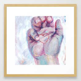 Just Right Framed Art Print