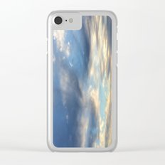 December Morning Colors Clear iPhone Case