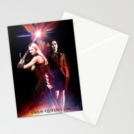 SwanQueen Sword Stationery Cards