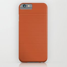 Terracotta 1000°C iPhone Case