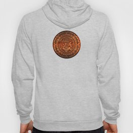 Aztec Logo On Wood Hoody