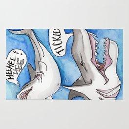 Shark Tickles Rug