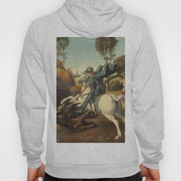 Saint George and the Dragon Oil Painting By Raphael Hoody