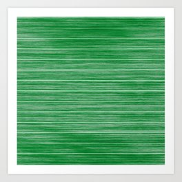 Bright Pastel Green Wood Beach House Cladding Art Print