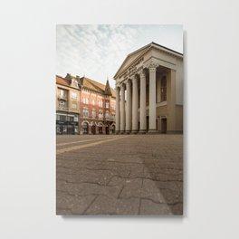 Public theater in Subotica, Serbia / Fall / Autumn Metal Print