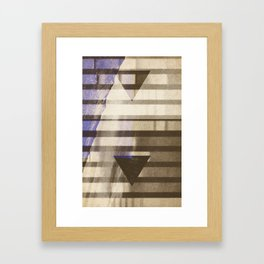 Fission Beach Framed Art Print
