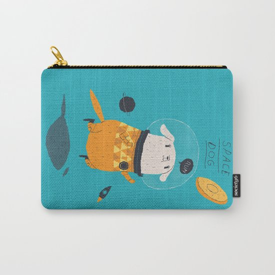 space dog Carry-All Pouch