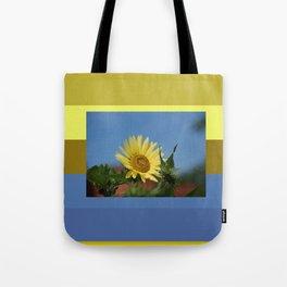 Sunflower Color Palette Tote Bag