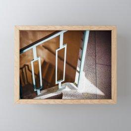 Stairs Framed Mini Art Print