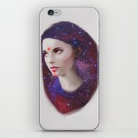 mars iPhone & iPod Skins featuring Mars by Liza van Rees