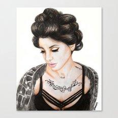 Christina Perri Canvas Print