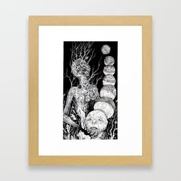 Tarot - The Moon Framed Art Print