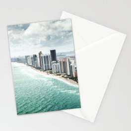 fort lauderdale skyline Stationery Cards