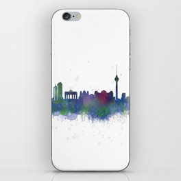 Berlin City Skyline HQ2 iPhone Skin
