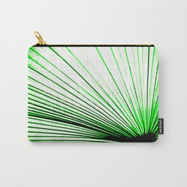 Vibrant, Bold Green Carry-All Pouch