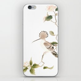 Japan Spring Flowers and Birds iPhone Skin