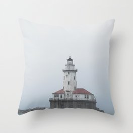 The Chicago Lighthouse Throw Pillow