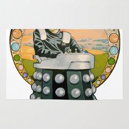 Stephen Hawking Dalek Rug