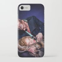 frankenstein iPhone & iPod Cases featuring Frankenstein by tillieke