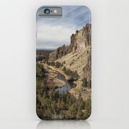 Smith Rock and Beyond iPhone Case