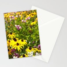 70s Summer ~ flowers Stationery Cards