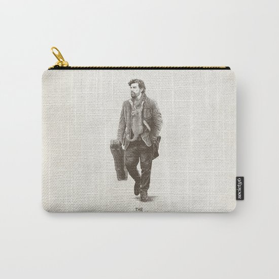 The Man Guitar Cat Carry-All Pouch